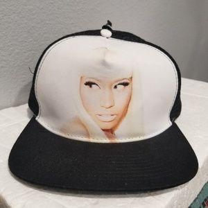 NEW Nicki Minaj Picture Snapback Mesh Hat Cap OS